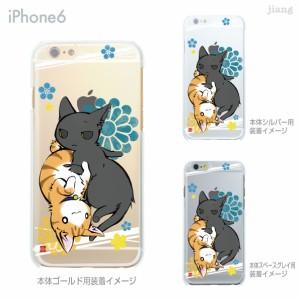 iPhone8 X iPhone7 iPhone6/6s Plus ソフトケース ケース カバー スマホケース クリアケース Clear Arts 小梅ハウス ねこ 53-ip6-tp0012