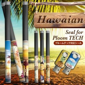 プルームテックシール プルームテック シール Ploom Tech タバコ jt 電子タバコ  ploomtechシール スキンシール ハワイアン pt-008