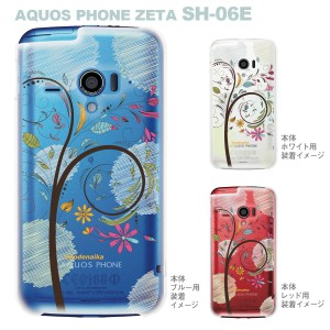 【AQUOS PHONE ZETA SH-06E】【IGZO】【イグゾー】【ケース】【カバー】【スマホケース】【クリアケース】【Vuodenaika】【フラワー】 2