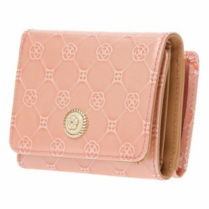 d2fdcbf76642 クレイサス 財布 折財布 三つ折り フリージア ピンク CLATHAS