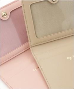 アニエスベー 正規品 パスケース 定期入れ ピンク