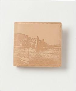 アニエスベー 正規品 折財布 ナチュラル