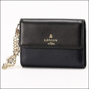 LANVIN ランバン 正規品 シャルティエ マルチキーケース ブラック