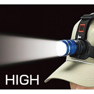 3W LEDズームヘッドライト  NO.170 【ギフト対応不可】