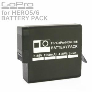 GoPro HERO5 HERO6 カメラ用 大容量 リチウムイオン バッテリーパック 1個 互換 AHDBT-501 AHDBT-601 充電池