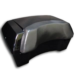 汎用 リヤボックス ブラック 塗装済み フュージョン フォルツァ PCX マジェスティ マグザム シグナス スカイウェイブ アドレス 等に