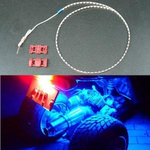 SMD LED テープ 60センチ 防水 ブルー カスタムパーツ