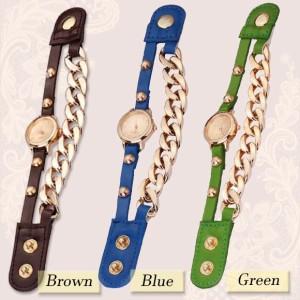 2018夏新作 腕時計 チェーンタイプ 巻きつけタイプ 巻き時計 ブレスウォッチ