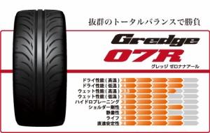 【新品タイヤ】ZESTINO Gredge 07R 275/35R19 TREADWEAR:240 【2753519tire-pas】
