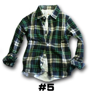 8093496aee0b1 子供服 男の子 シャツ チェックネルシャツ 120 130 140 150 160cmの通販 ...