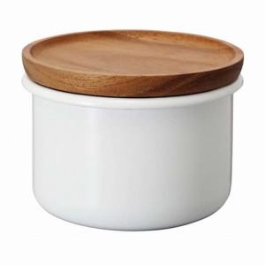 ティー コーヒーキャニスター 琺瑯製容器 ほうろう ホーロー 100g ボナ ハリオ
