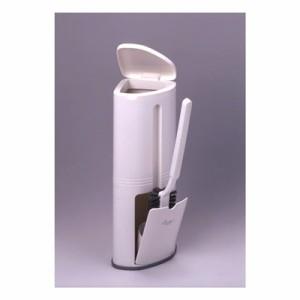 トイレブラシ コーナー用トイレコンポ ホワイト