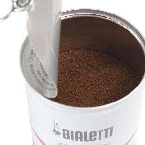 コーヒー粉 エスプレッソ用 250g 深煎り 細挽き ビアレッティ コーヒーパウダー