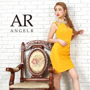 Angel R エンジェルアール ドレス キャバ ドレス キャバドレス エンジェル アール ドレス オーロラビジューショルダーデザインタイトミニ