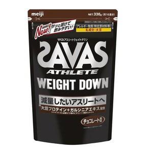 SAVAS (ザバス) サプリメント ザバス アスリート ウェイトダウンチョコレート風味 16食分[配送区分:A]