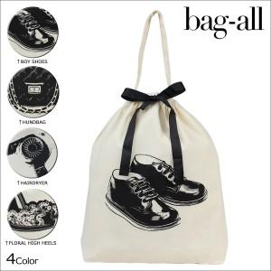 """Bag-all バッグオール バッグ エコバッグ Organizing Bag レディース"""