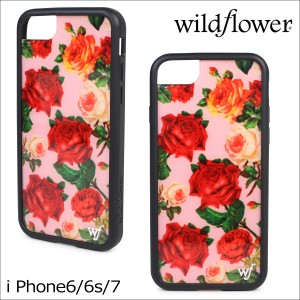 76f38e5530 wildflower ワイルドフラワー iPhone8 7 iPhone ケース 6 6s スマホ アイフォン レディース 花柄 マルチカラー
