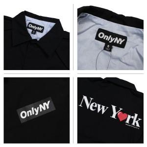 89dafe83f920 ONLY NY オンリーニューヨーク ジャケット コーチジャケット コットン メンズ アウター NEW YORK LOVE COACH JACKET  3. 商品画像