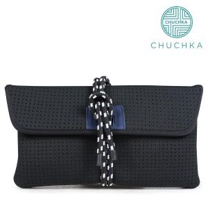 チャチュカ CHUCHKA クラッチバッグ ビーチバッグ レディース CLUTCH BAG ブラック