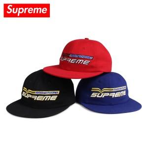 シュプリーム Supreme キャップ 帽子 スナップバック メンズ レディース MOTHERFUCKER 6-PANEL ブラック レッド ブルー 黒