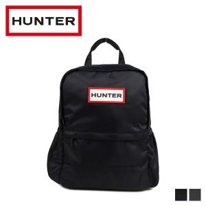 0225d362d6 ハンター HUNTER リュック バッグ バックパック メンズ レディース ORIGINAL NYLON SMALL BACKPACK ブラック  ダーク オリーブ 黒