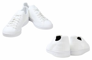 adidas アディダス スタンスミス スニーカー STAN SMITH PRIMEKNIT BB S80065 メンズ ホワイト ブラック