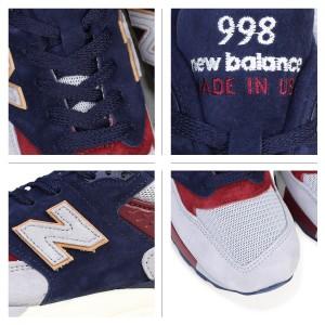 low priced fbff9 b2b37 ニューバランス new balance 998 メンズ レディース スニーカー M998CSU Dワイズ MADE IN USA ネイビー