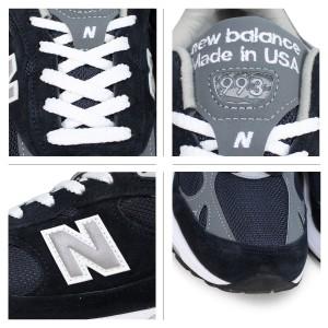 ニューバランス 993 メンズ new balance スニーカー MR993NV Dワイズ MADE IN USA ネイビー [予約商品 9/25頃入荷予定 追加入荷]