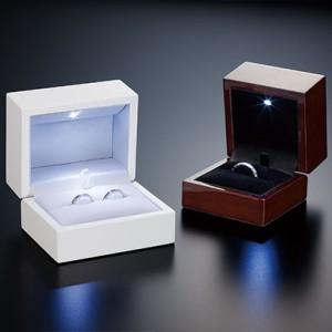 宅配便【送料無料】沖縄・離島は送料800円!スポットライトの様に指輪を際立たすレイビーム ジュエリーケース|リングケース|