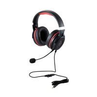 エレコム ELECOM HS-G60BK ゲーミングヘッドセット/HSG60/オーバーヘッド/ブラック HSG60BK