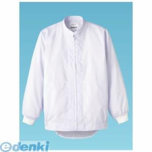 [SZY1402] 男女兼用長袖ジャンパー DC513 S (ホワイト) 4905001208966
