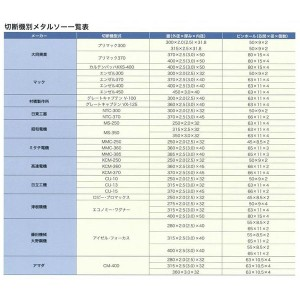 大同  SPソ-370X3.0X50 100Z  ダ スペシャルソー SPソ370X3.0X50100Zダ