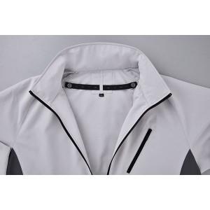 4930269362303 空調風神服 BK6057 長袖ジャケット 色:ホワイト サイズ:3L