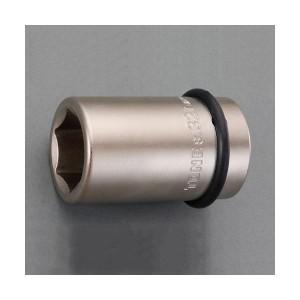 """エスコ EA164NL-438 1""""DR/38mm ホイールナット用インパクトソケット アウターナット用 EA164NL438"""