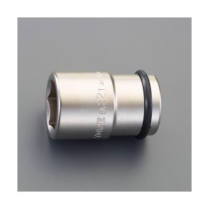 """エスコ EA164NP-32 3/4""""DR/32mmホイールナット用インパクトソケット アウターナット用 EA164NP32"""