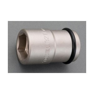 """エスコ EA164NP-3217 3/4""""DR/32x17mm ホイールナット用ソケット アウター/インナー用 EA164NP3217"""