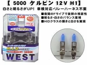 【H1】  ホワイト抜群★スーパーホワイトバルブ  WEST-H1 /