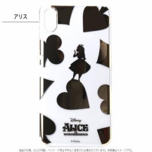 08492ba9f9 iPhone XS Max 対応 iPhoneXSMax 6.5インチモデル ケース カバー ディズニーキャラクター 箔押し クリアケース  ティンカーベル アリス