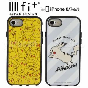 1721a0af14 iPhone8 iPhone7 iPhone6 ケース カバー ポケットモンスター iPhoneケース イーフィット iiiifitケース ポケモン