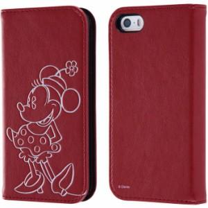 74a3583a00 iPhoneSE/5s/5 アイフォンSE ケース/カバー ディズニー 手帳型ケース ホットスタンプ