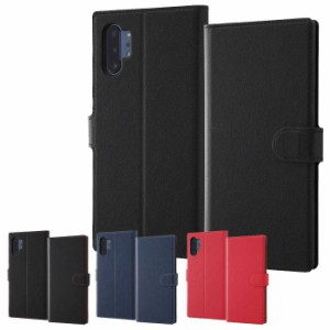 Galaxy Note 10+ SC-01M/SCV45 ケース カバー 手帳型ケース ソフトタイプ マグネット レイアウト RT-GN10PTLC1