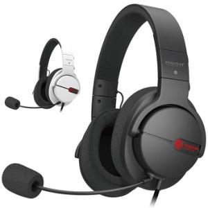 代引不可 FPS ゲーミングヘッドセット 両耳 オーバーヘッド Hi-Fiオーディオ 高音質 ヘッドホン マイク エレコム HS-ARMA100
