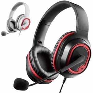 代引不可 FPS ゲーミングヘッドセット 両耳 オーバーヘッド 高音質 軽量設計 快適 ヘッドホン マイク エレコム HS-G30