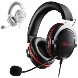 代引不可 FPS ゲーミングヘッドセット 両耳 オーバーヘッド ハイレスポンスドライバー 密閉型 ヘッドホン マイク エレコム HS-G40