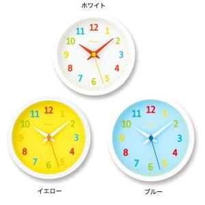 子供部屋 壁掛け時計 子供 掛け時計 おしゃれ カラフル ポップ かわいい アナログ時計 palette mini PC08-18