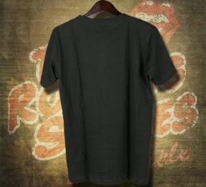 古着テイストロックTシャツ Rolling Stones ローリング ストーンズ シンプルロゴ バンドTシャツ メンズ レディース パンク