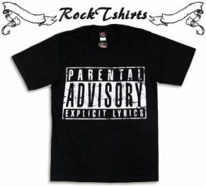 ロックTシャツ Parental Advisor...
