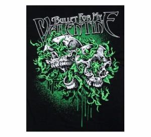 アメコミ風ロックTシャツ Bullet For My Valentine ブレット フォー マイ ヴァレンタイン バンドTシャツ メンズ レディース パンク