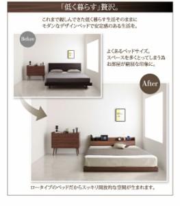 ベッド ダブル ローベッド フロアベッド Hierro イエロ Sポケットマットレス付き ダブルサイズ