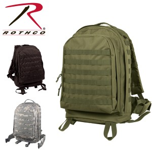 791a492572bd ROTHCO ロスコMOLLE II 3-DAY ASSAULT PACK 600D POLYESTER 正規品 バックパック リュック